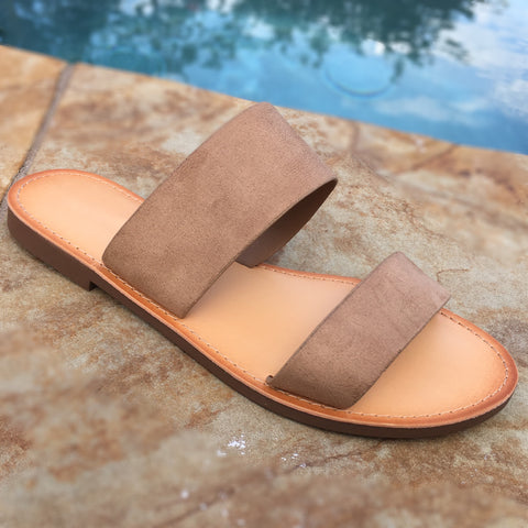 Switzerland Slip On Sandal