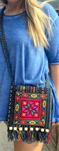 Aztec Indian Style Messenger Bag