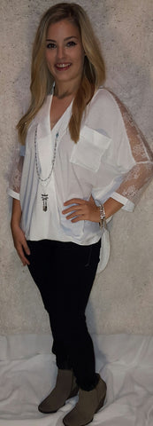 Lovely in Lace Blouse