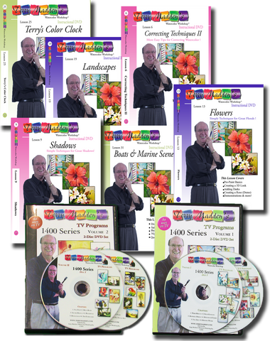Watercolor Lessons on DVD