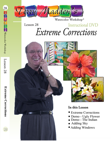 Terry Madden's Lesson 28 - Extreme Corrections