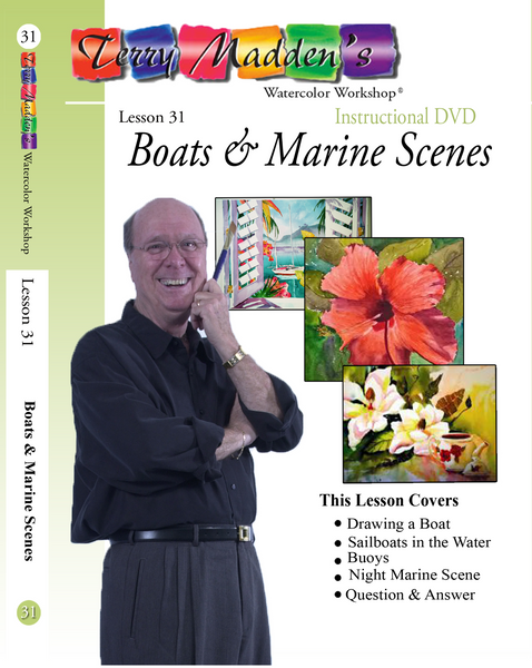 Terry Madden's Lesson 31 - Boats & Marine Scenes