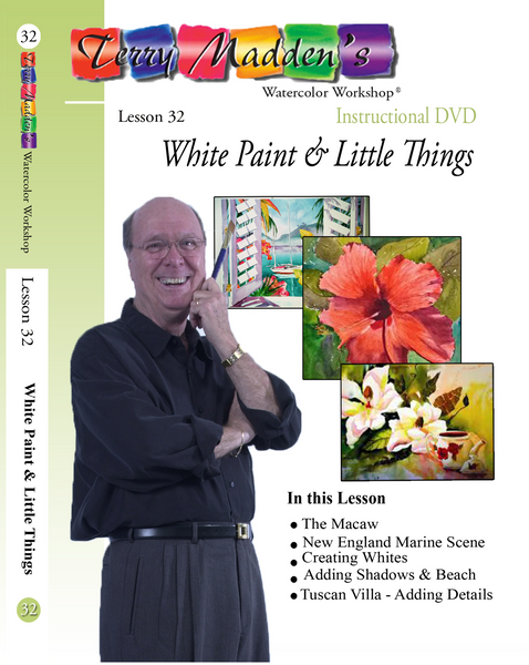 Terry's Lesson 32 - White Paint & Little Things