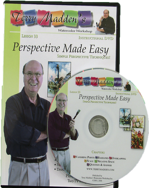 Terry Madden's Lesson 33 - Perspective Made Easy (Live Stream)
