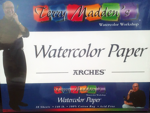 Terry's Watercolor Pad
