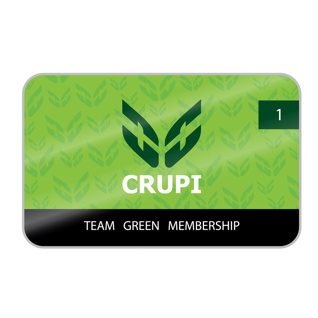 Crupi Team Green for 2017