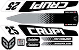 CUSTOM Crupi Catalina Frame Decals