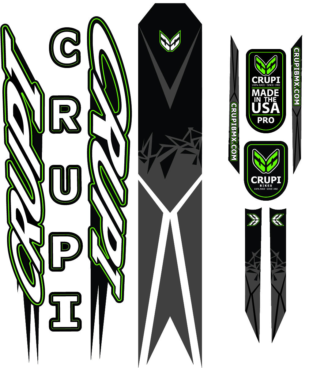 2017 Crupi Decals