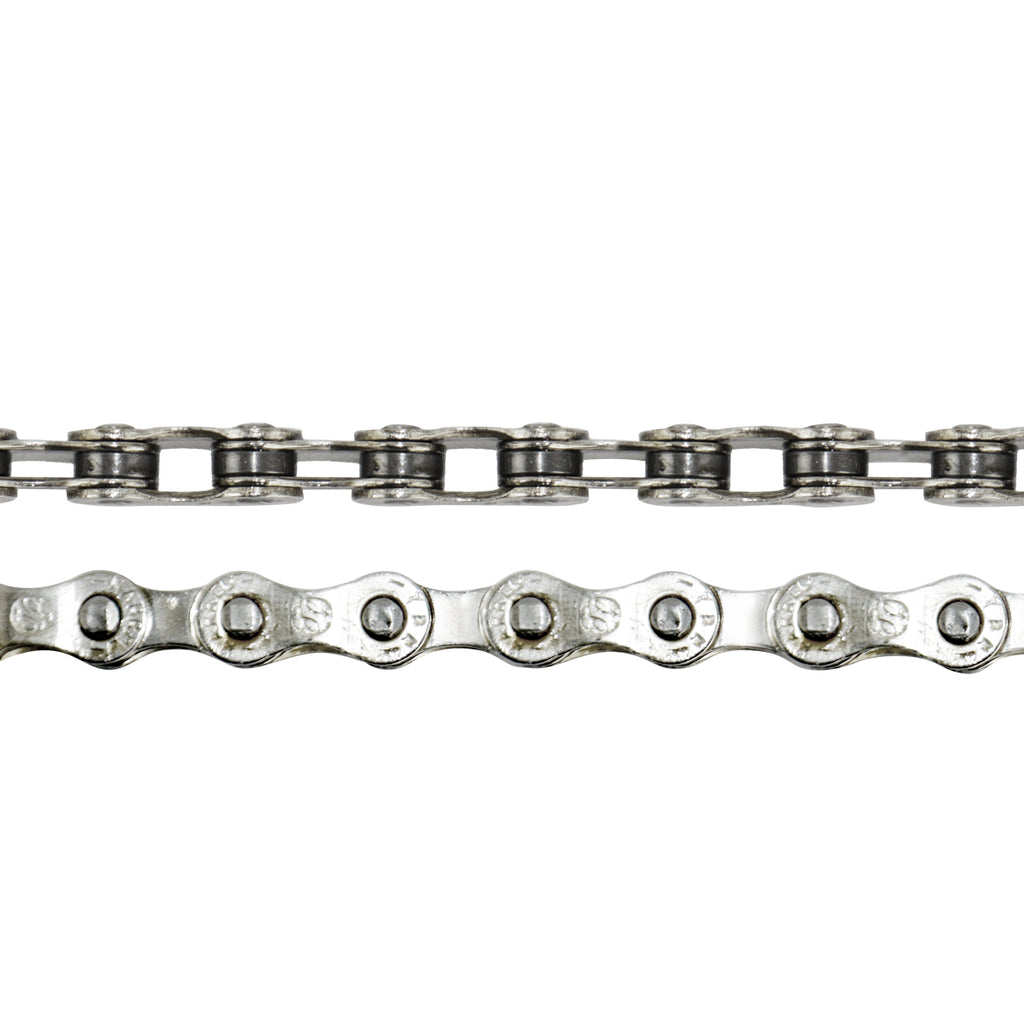 CRUPI BMX PRO 3//32 HOLLOW PIN CHAIN SILVER
