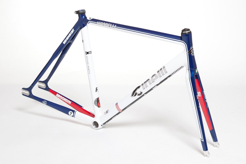 Cinelli Vigorelli Red Hook Crit NYC Special Replica Frame - LIMITED ...