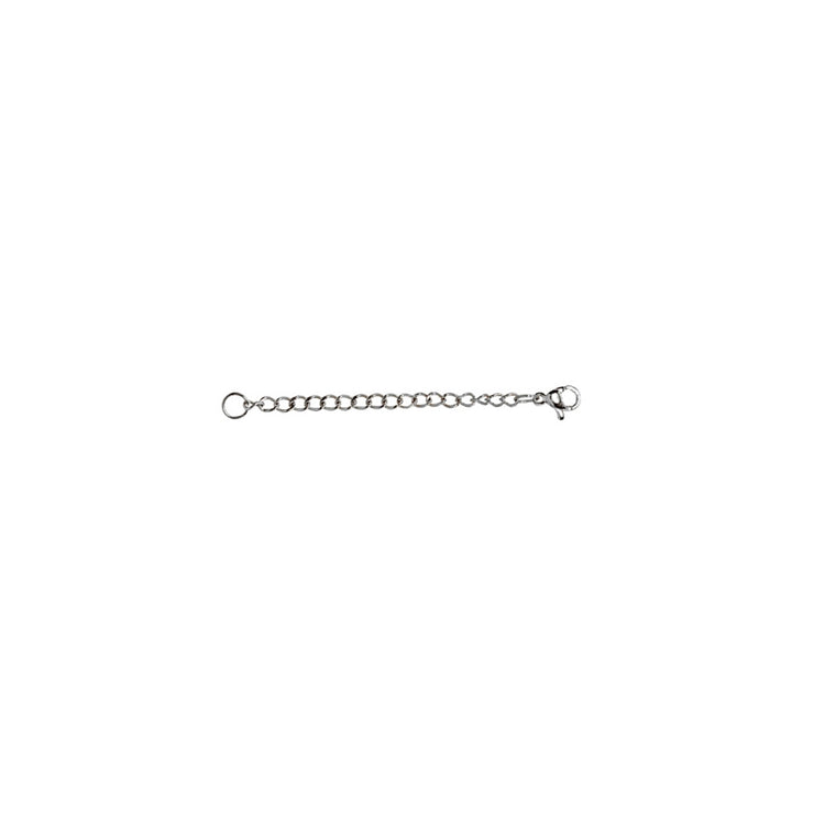 Stainless Steel Chain Link Extender for Pendant Necklace Bracelet Anklet, 2 Inches