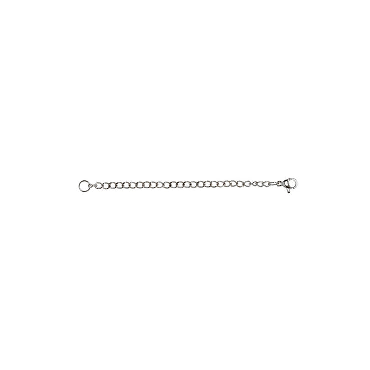 Stainless Steel Chain Link Extender for Pendant Necklace Bracelet Anklet, 3 Inches
