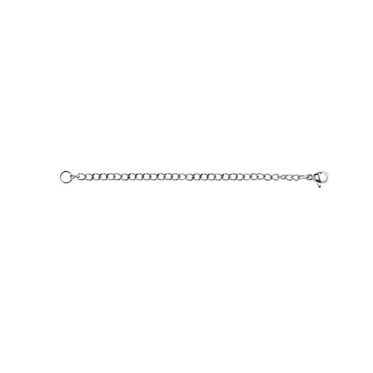Stainless Steel Chain Link Extender for Pendant Necklace Bracelet Anklet, 4 Inches