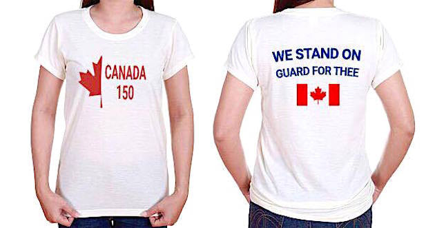 Happy 150th Canada T-Shirt