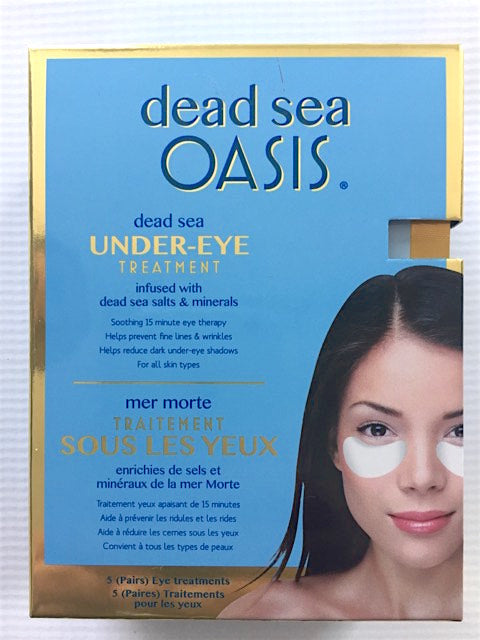 Dead Sea Oasis Under-eye Treatment Infused with Dead Sea Salts & minerals