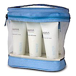 AHAVA Body Treatment Kit: Hand Cream, Foot Cream, Body Lotion, Dead Sea Bath Crystals