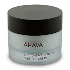AHAVA Bright Nights Age Control Sleeping Cream - For All Skin Types