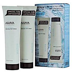 AHAVA Mineral Duo Kit: Double Foot Cream (Special Size)