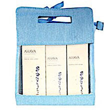 AHAVA Triple Body Treatment Kit: Hand Cream, Foot Cream, Body Lotion