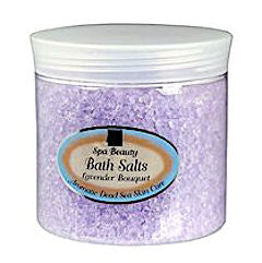 Aromatic Dead Sea Bath Salt. Lavender Bouquet