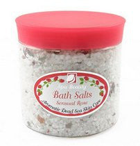 Aromatic Dead Sea Bath Salt. Sensual Rose