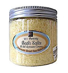 Aromatic Dead Sea Bath Salt. Wild Lemon Grass