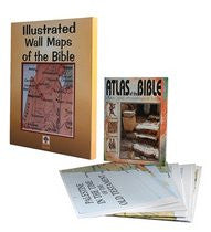 Carta's Illustrated Wall Maps of the Bible (12 Large Maps + Atlas)