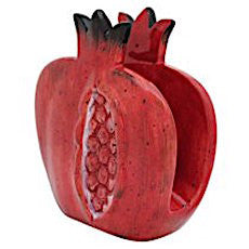 Ceramic Pomegranate Napkin Holder