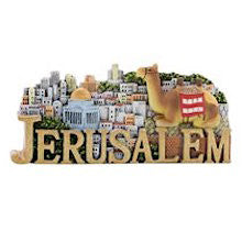 Colorful Decorative Magnet - Jerusalem