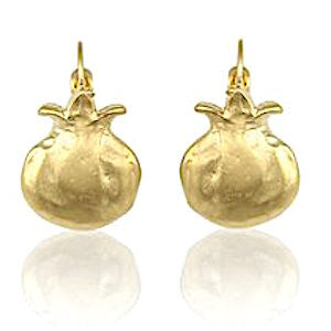 Danon Gold Plated Pomegranate Fashion Earrings