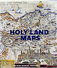 Holy Land in Maps (Hardcover)