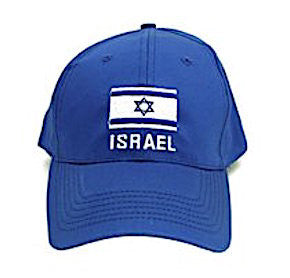 Israel Flag Cap Color Blue