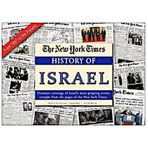 New York Times Reprint - The History of the State of Israel (62 Front Pages & Articles)