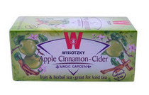 Wissotzky Apple Cinnamon-Cider Tea Bags