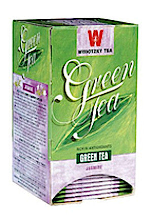 Wissotzky Green Tea with Jasmine