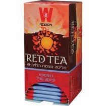 Wissotzky Red Tea. Rooibos Herb Infusion with Cinnamon & Vanilla