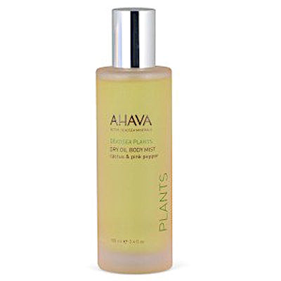AHAVA Multi-Vitamin Dry Oil Body Mist - Cactus and Pink Pepper
