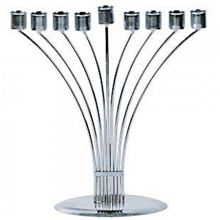 Metal Curved Branch Candelabra