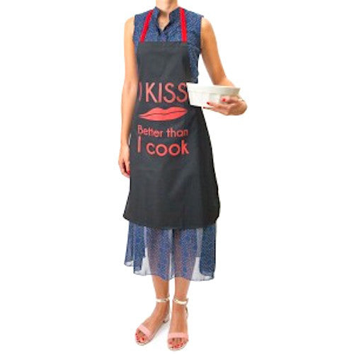 Apron - I Kiss Better than I Cook
