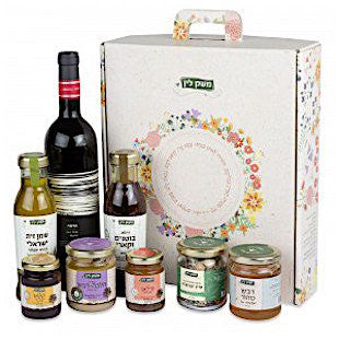 All-Natural Gift Box with Wine
