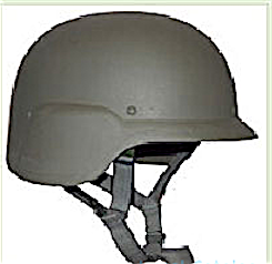 lightweight Bullet proof Army Helmet, Level IIIA -Kevlar