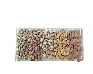 Rectangular Assorted Nut Platter