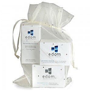 Edom Spa Kit: Replenishing Face Serum, Anti Wrinkle Cream Q10, Shea Body Butter