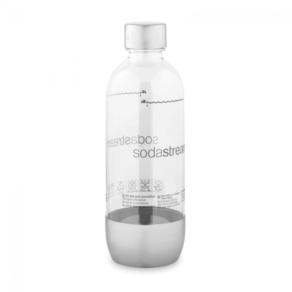 SodaStream Carbonating Bottle Stainless Steel 1L