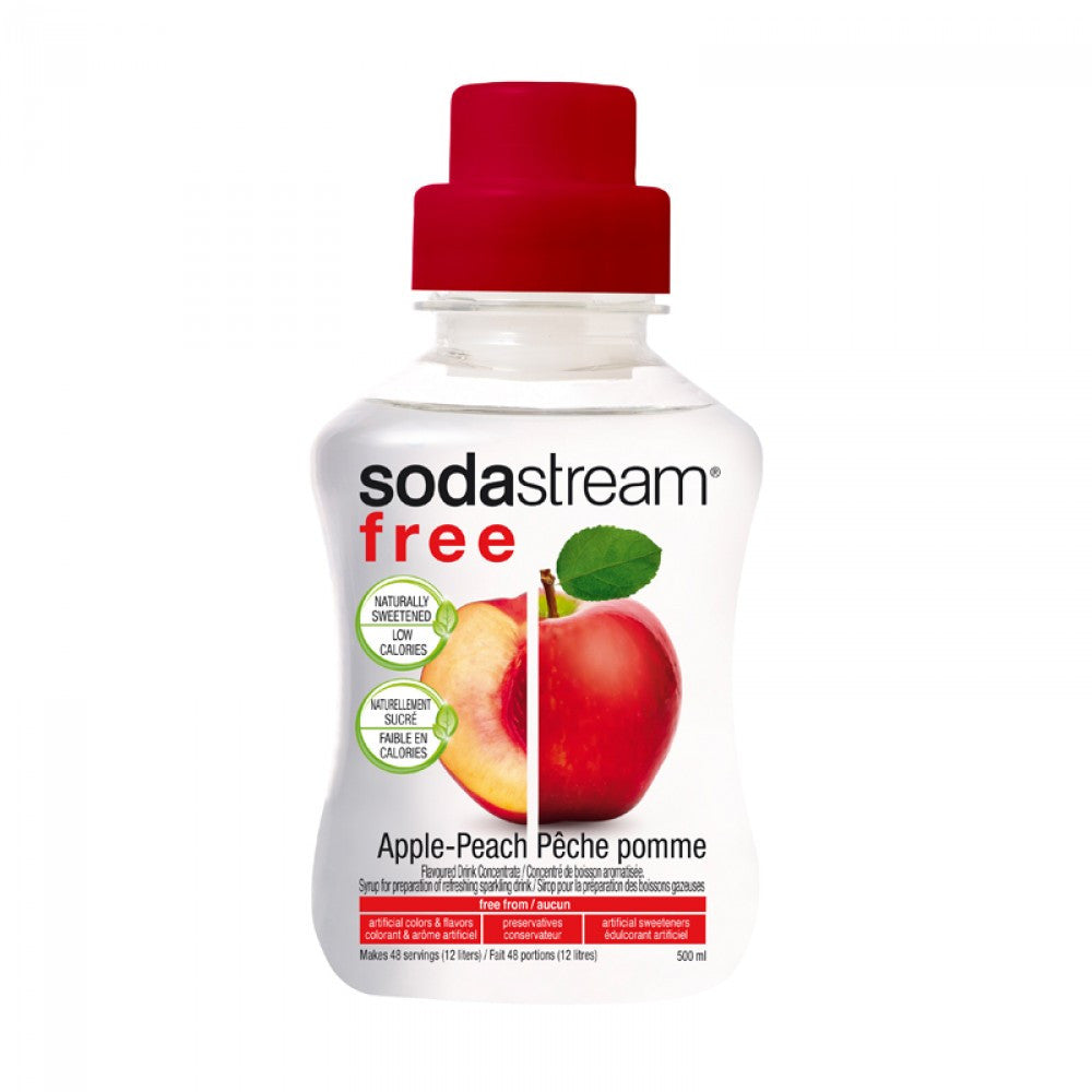 SodaStream Free Apple Peach 500ml