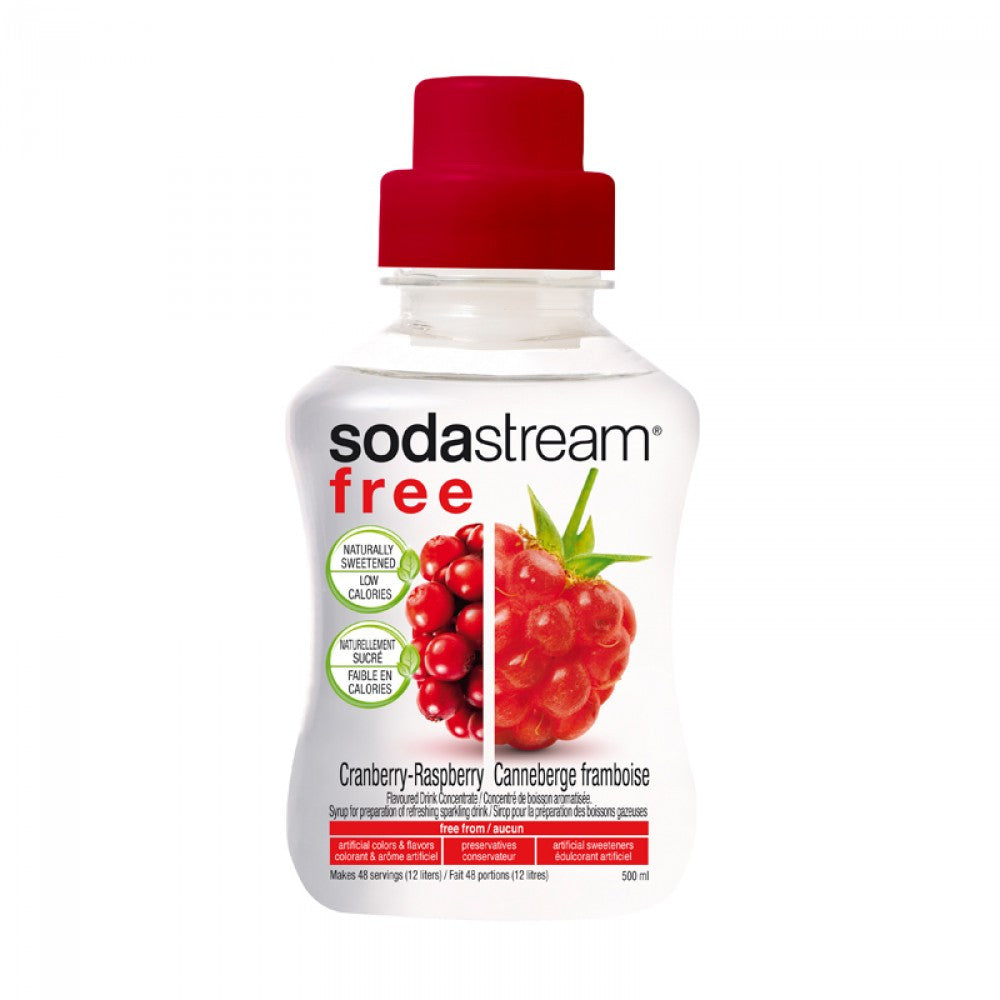 SodaStream Free Cranberry Raspberry 500ml