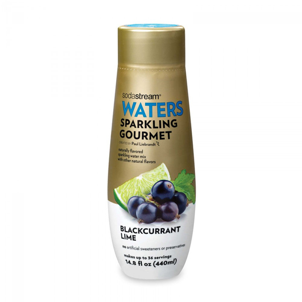 SodaStream Waters Sparkling Gourmet Blackcurrant Lime Drink Mix