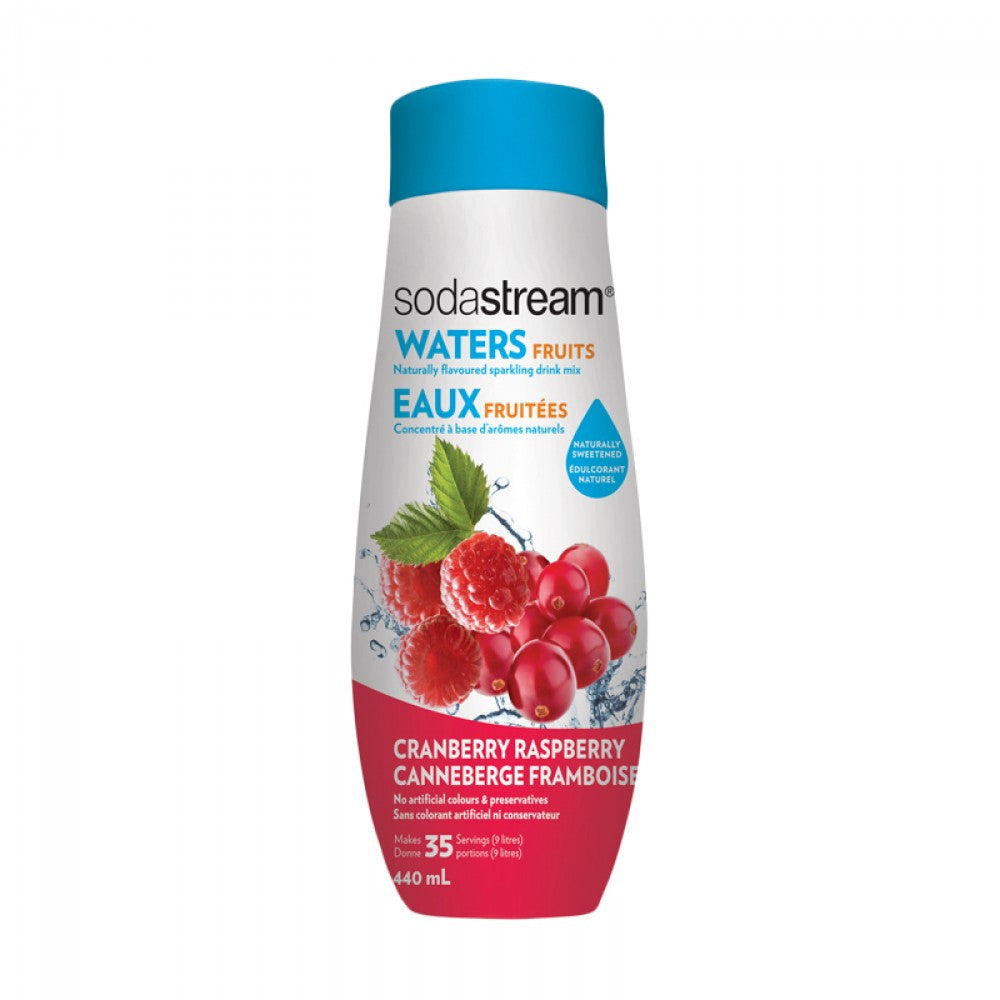 SodaStream Waters Fruits Cranberry Raspberry 440ml