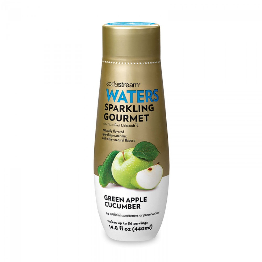 SodaStream Waters Sparkling Gourmet Green Apple Cucumber Drink Mix