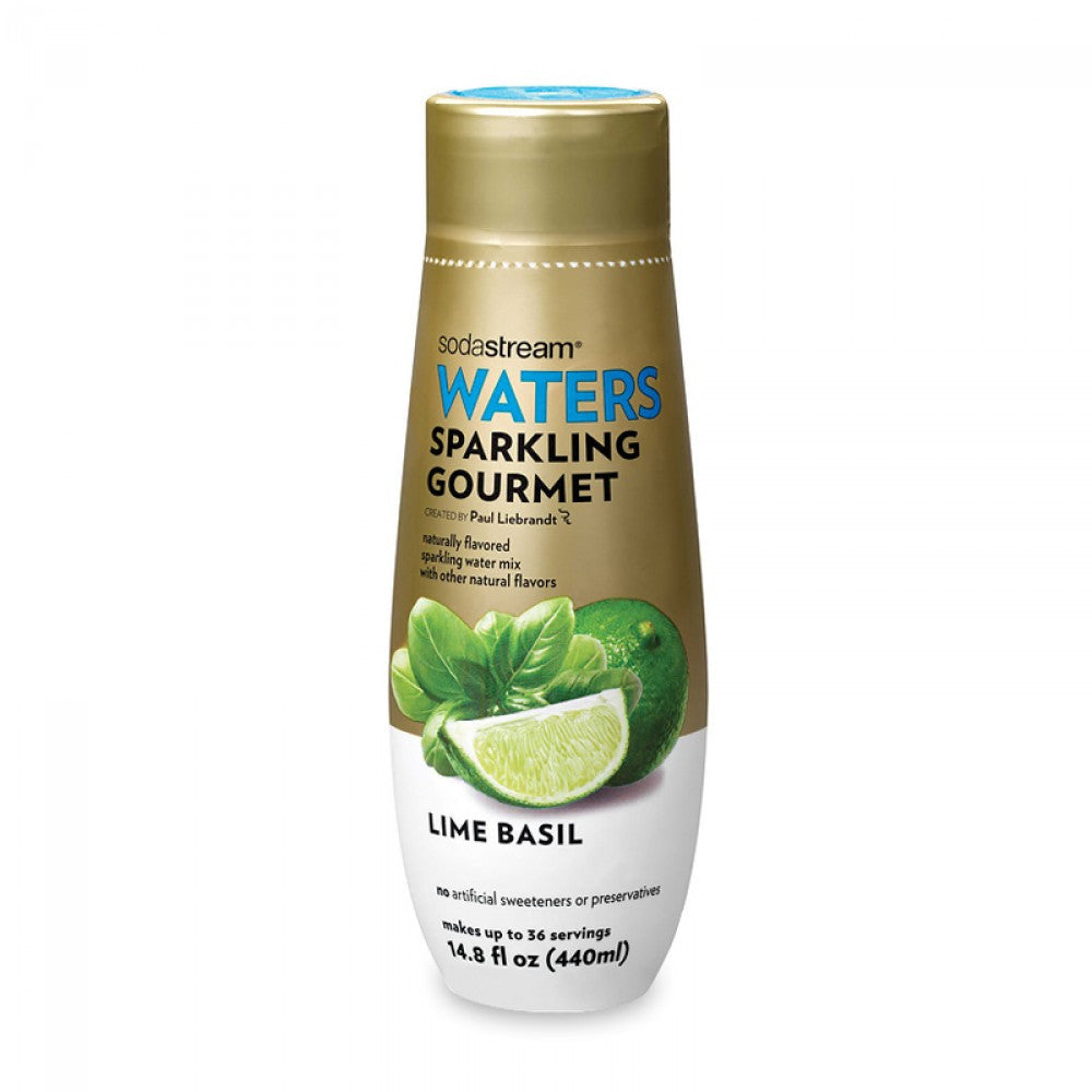 SodaStream Waters Sparkling Gourmet Lime Basil Drink Mix
